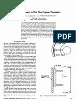 Fluid Transport in Thin Film Polymer Processors