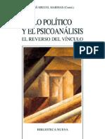 Lo político y el psicoanálisis. El reverso del vínculo.pdf