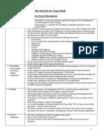 Temporary IT audi checklist