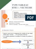 0011- Variables indexés - Tableaux (Partie 1 - Vecteurs)