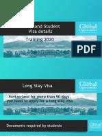 Switzerland Student Visa Details