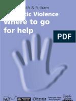 Domestic Violence Leaflet Tcm21-113069 Tcm21-119910