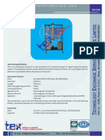 Cocurrent and counter current Liquid-Liquid Extractor