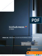 Bizhub Press c7000 Series Brochure