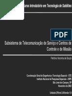 200_Subsistema de Telecomunicacao de Servico e Centros de Controle e de Missao_P2.4_v1_2002