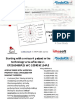 Fiber Patent Landscape Analysis With SocialCitnet