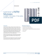 85010-0055 -- EST3 Control Display Modules