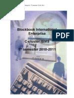Blockbook International Enterprise 1st Semester 20102011 (1)