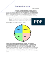 The Deming Cycle