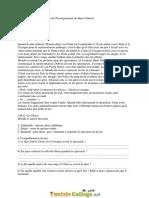Série d'exercices - Français - les concours depuis 2001 jusqu'à 2015 - 9ème (2016-2017) Mr Nader