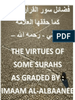Virtues of Some Surahs