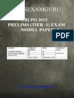 SBI-PO-Preliminary-Model-Paper-5
