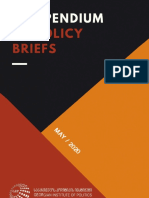 Compendium of Policy Briefs 2020