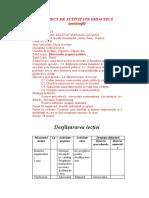 PROIECT DE ACTIVITATE DIDACTICĂ VII mass media si opinia publ