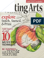 Quilting Arts Magazine - Issue 64 - August September 2013