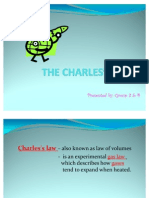 THE CHARLES'S LAW