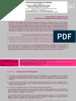Cuaderno de Investigación Humanística y Social. Instructivo Para Colaboradores