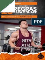 15 REGRAS PARA O SHAPE COMPRESS