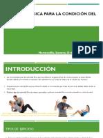 Actividad Física Para La Condición Del Individuo