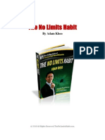 No Limits Habit Book