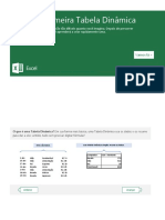 Excel - Tabela Dinâmica