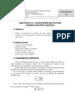 Aula  14 circuito retificador de onda completa com filtro 20191