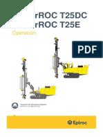 9852 3718 05f PR T25DC and PR T25E Operator's Instructions (1)