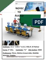 SECUENCIA A NUAL 2020 DE PRÁCTICA DOCENTE II