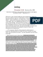 Ephesians 2 Soul Winning -Charles Spurgeon