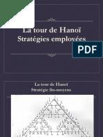 Hanoï - Stratégies