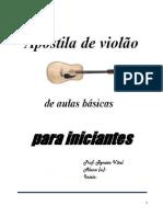 Apostila de violão corrigida