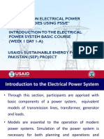W-1-Day-1-A - Introduction to Electric Power System