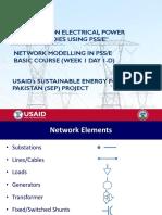 W-1-Day-1-D - Network Modelling in PSSE