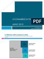 L'E-commerce in Italia 2010 - IG