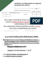 Section 3-2 Formules et Interprétations de l'augmentation du K par incorporation des réserves.pptx