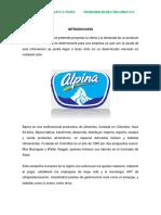 ACTIVIDAD 5 ALPINA