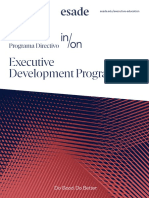 Esade folleto Executive Development Programme B2C