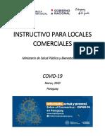 Instructivo para Locales Comerciales