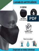 Ficha Tecnica Tapabocas Lavables Antifluido