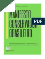 MANIFESTO CONSERVADOR BRASILEIRO - FORMATO A5