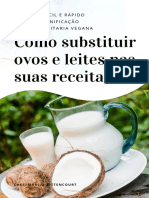 Ebook Confeitaria Vegana - Leite e Ovos