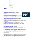 AFRICOM Related Newsclips January 10, 2011