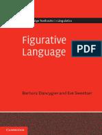 Figurative Language.barbara Dancygier