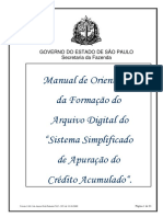 MANUAL ARQUIVO MAGNETICO ECREDAC