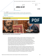 """""""Para entender a poesia de Gregório de Matos, é preciso saber quem foi ele"""" – Jornal da USP"""