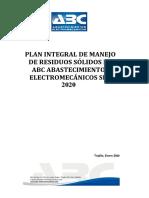 PLAN DE MANEJO DE RESIDUOS SOLIDOS ABC 2020.pdf