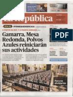 Diario La Republica 15 Junio 2020