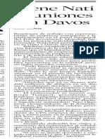 26.01.2006 Tiene Nati reuniones en Davos