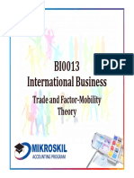 Chapter 5 Trade and Factor-Mobility Theory