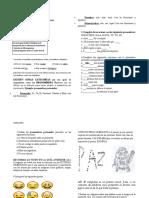 GUÍA DE LECTURA GRADO 7 categorias y caligrama
